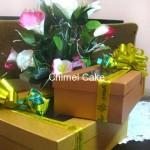 Paket hantaran kue kering dengan box dan hiasan yang menarik