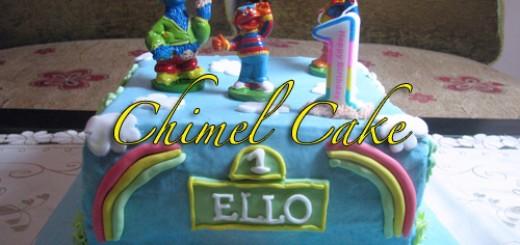 Ello 1st Birthday Cake