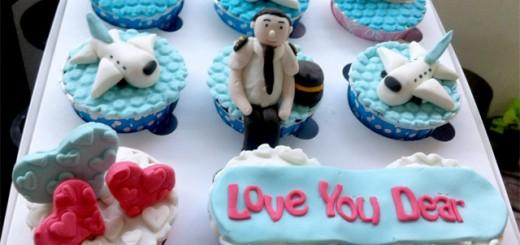 Pilot Cupcake
