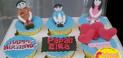 Birthday Cupcake's Papah Elga
