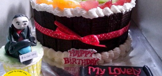 Fruit Birthday Cake's Mr.Dananjoyo