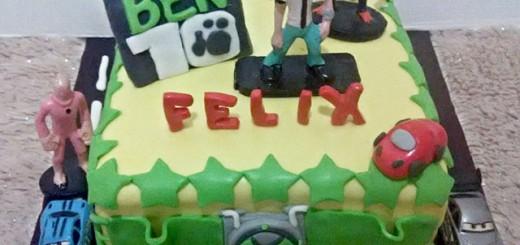 Ben 10 Birthday Cake's Felix