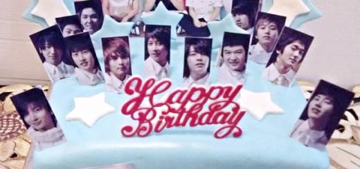 Super Junior Birthday Cake