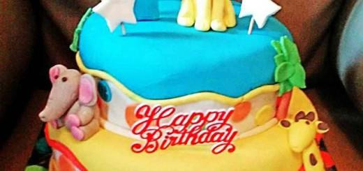Animal Birthday Cake's Lionel