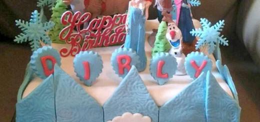 Frozen Birthday Cake's Dirly