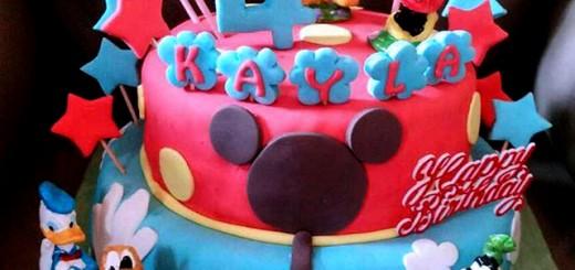 Mickey Mouse Birthday Cake's Kayla